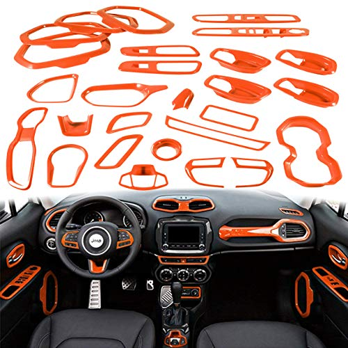 31PCs Car Interior Accessories Decoration Cover Trim Kit