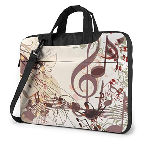 XCNGG Shockproof Laptop Bag Creative Music Durable Case Sleeve for PC Tablet Cushion Protective Laptop Briefcase