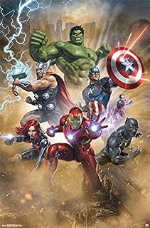 Trends International Avengers Fantastic Wall Poster, 22.375