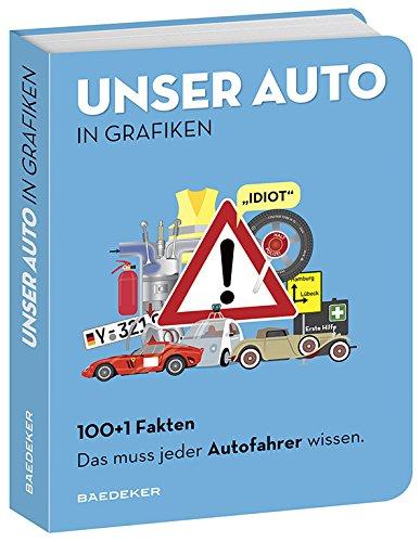 Baedeker 100+1 Fakten. Das muss jeder Autofahrer wissen.: UNSER AUTO IN GRAFIKEN