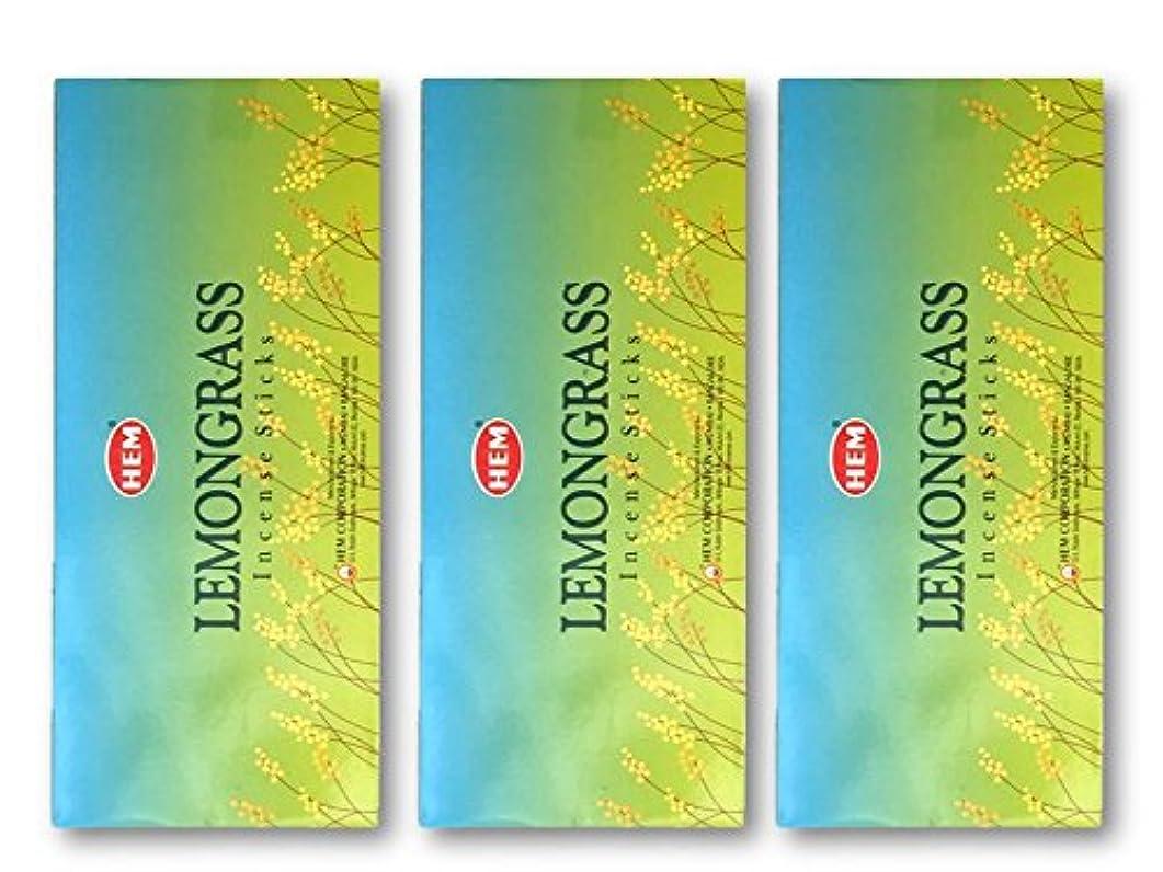 カテナ昇進シャイニングHEM(ヘム) スティックお香/六角香/ヘキサパック(18箱)3ケースセット (レモングラス)