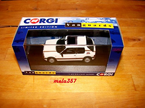 Corgi (Vanguard 1/43 ème) - CVA12707B, Véhicule Miniature - Peugeot 205 GTI - Volant à Gauche - Blanc