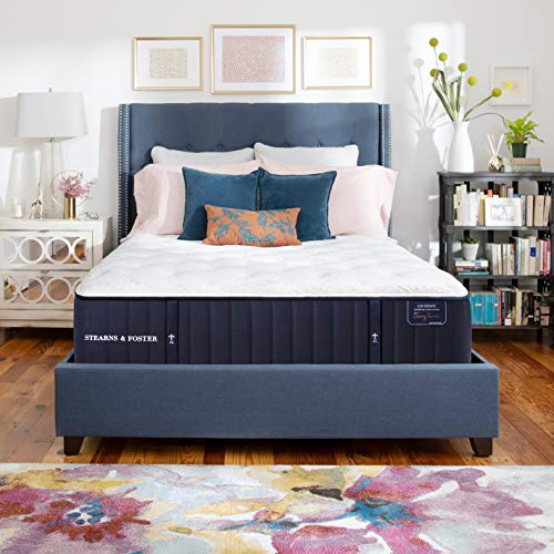 Best Prices! Stearns & Foster Lux Estate, 13.5-Inch Luxury Ultra Firm Tight Top Mattress and 5-Inch ...