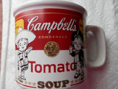 Campbell's Soup Contemporary Label Tasse, 1999 Houston Harvest Condensed Soup Label