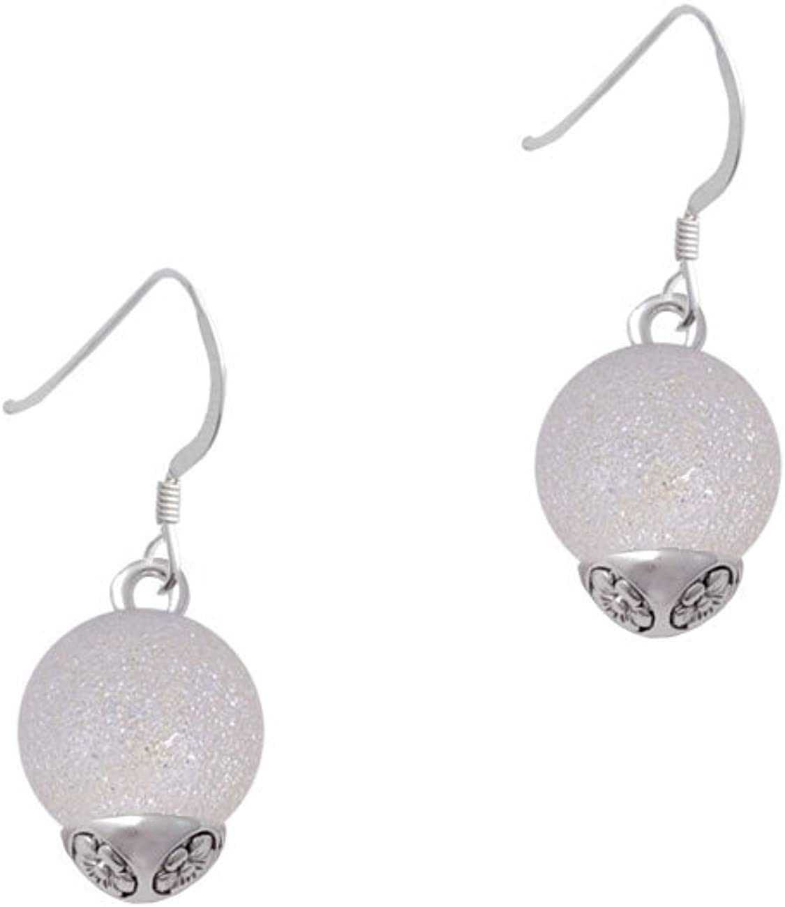 12mm Stardust Indefinitely Round Special Campaign Spinner French - Earrings