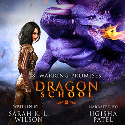 Dragon School: Warring Promises audiobook cover art