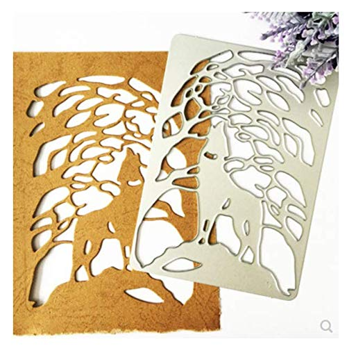 Cubierta de lobo Molde de corte de metal Diy Cuchillo Molde Álbum de recortes Álbum Tarjeta de papel Decoración Artesanías Gofrado