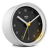 BRAUN ALARM CLOCK ブラウン アラーム クロック 時計 クロック ブラック 黒 ホワイト 白 置き時計 目覚まし時計 トラベル 旅行 BC012WB 並行輸入品