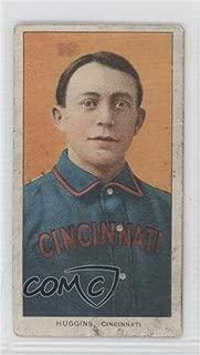 Miller Huggins (Baseball Card) 1909-11 T206 - [Base] - Sovereign 350 Forest Green Back #MIHU