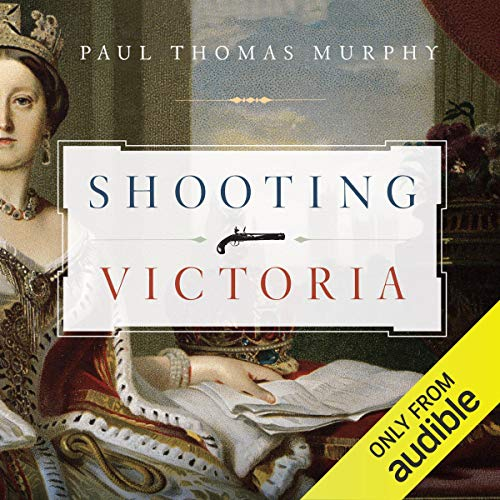 Shooting Victoria audiobook cover art