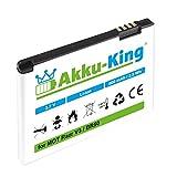 Akku-King Akku kompatibel mit Motorola BA700, BR50 - Li-Ion 850mAh - für Razr V3, Razr V3i, V3im, V3m, PEBL U6, Flip P, VFD2 Vodafone, Prolife 300/500,