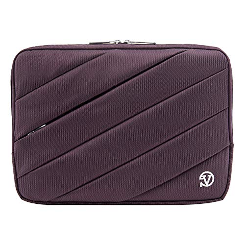 Protective Shock Absorbing Laptop Sleeve Case (Purple, 11.6 to 12.5 inch) for Dell Inspiron 11, Latitude 11 12, ChromeBook, Education Series, XPS 12