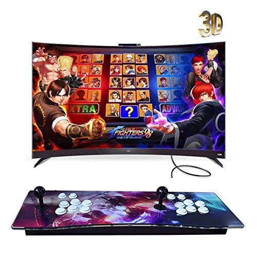 ZQYR GAME# Console de Jeux vidéo Arcade, 2350 en 1 Console de Jeux vidéo 1080P HD Retro, Commandes de Jeu à 2 Joueurs Double Stick Arcade Console Machine avec HDMI/VGA/USB, Model: BZ-2270