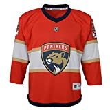 Outerstuff Youth NHL Replica Home-Team Jersey Florida Panthers Blank, Team Color, Large (12-14)
