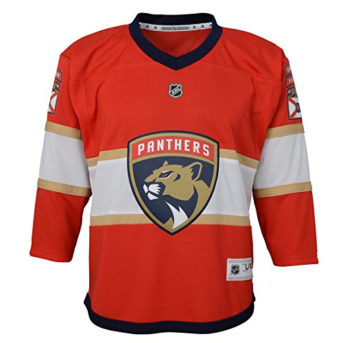 Outerstuff Toddler NHL Replica Jersey-Home Florida Panthers, Red, Infant One Size(12-24M)