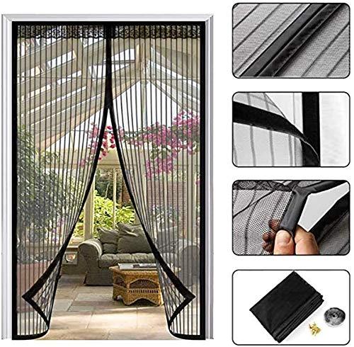 Insectenwerend gordijn met heavy duty bescherming tegen muggen, magnetische deur met heavy duty gordijn voor de deur, bug houdt de