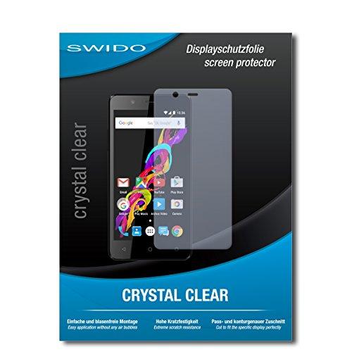 SWIDO Schutzfolie für Archos 50 Titanium 4G [2 Stück] Kristall-Klar, Hoher Festigkeitgrad, Schutz vor Öl, Staub & Kratzer/Glasfolie, Bildschirmschutz, Bildschirmschutzfolie, Panzerglas-Folie