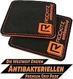 ROCKITZ Grip Pads | Premium Griffpolster für Kraftsport | Handschutz Grippads | Griffpads...