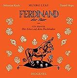 Ferdinand der Stier und Der Löwe auf dem Dachboden: gelesen von Sebastian Koch und Musik von Daniel Hope (Diogenes Hörbuch)
