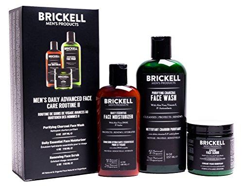 Brickell Men's Daily Advanced Face Care Routine II