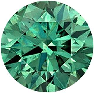 A Grade Green Moissanite Diamond 2.15 Ct Round Shape Diamond, Loose Green Moissanite Diamond Gem