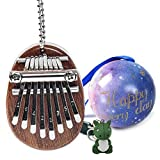 Mini Kalimba 8 Clés Pouce Piano, Professionnel De Haute Qualité Doigt Pouce Piano Instrument de Musique Accessoires comme Cadeau pour Enfants Adultes