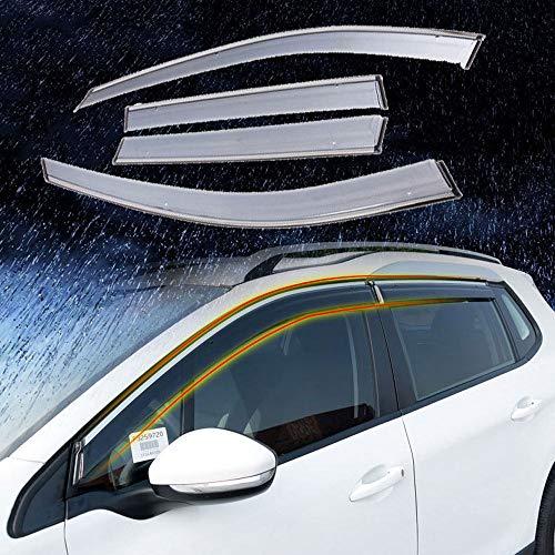 OTQEALY Kompatibel Mit/Ersatz Für Windabweiser Auto Für Lexus Ct200h/Es/Gs/Gx/is/Ls/Rx, Windabweiser Set, Regenvisier Fenster Regen Augenbraue,2014-IS