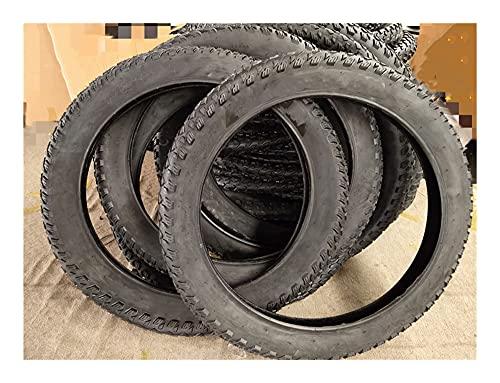 YJHL QIQIBH - Neumático gordo para bicicleta (20/24/26 x 4.0), se utiliza para neumáticos de playa, neumáticos de goma de bicicleta (color: tubo exterior de 26 x 4.0)