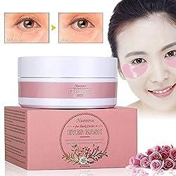 Eye Pads Dark Circles, Eye Mask, Eye Patches Dark Circles, Collagen Eye Pad Moisturizing Anti Wrinkles, Remove Pockets, Dark Circles & Puffiness, 20 Pairs