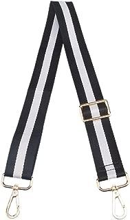 Multicolor Canvas Wide Strap Replacement Purse Strap Replacement Removable Crossbody Strap for Handbags