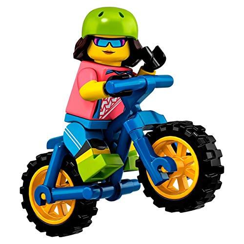 Mini Figur Lego Serie 19 71025 #16 Radfahrer