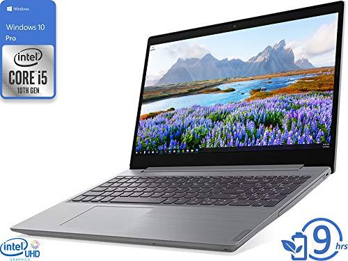 Lenovo IdeaPad L3 Laptop, 15.6' HD Display, Intel Core i5-10210U Upto 4.2GHz, 8GB RAM, 128GB SSD, DVDRW, HDMI, Card Reader, UK Keyboard, Wi-Fi, Bluetooth, Windows 10 Pro
