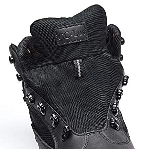 CC-Los Men's Hiking Boots Waterproof Ankle Boot Shock-Absorbing EVA Casual Outdoor Lightweight Shoes