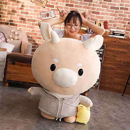CPFYZH Muñeca de peluche gigante de 60 cm Juega Peluche de Vaca Niños Juguetes para Niños