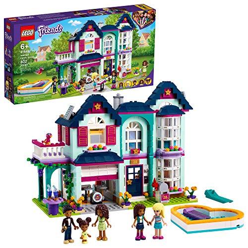 LEGO Friends Andrea's Family House Building Kit 41449