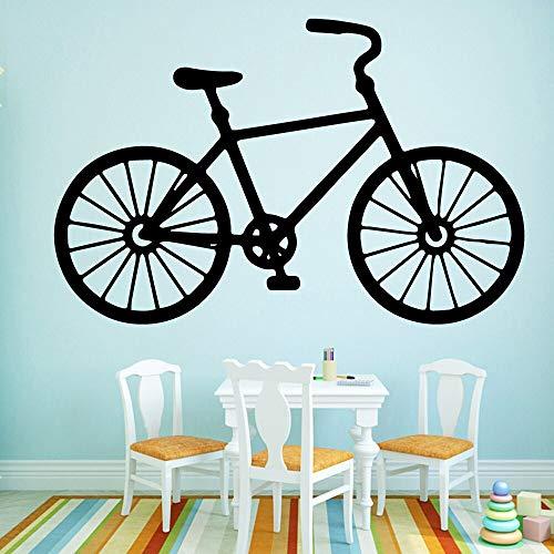 Tianpengyuanshuai muurstickers voor fiets, personaliseerbaar, zelfklevend, van vinyl, waterdicht, muursticker, stickers voor woonkamer, slaapkamer, decoratie