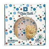 The Dida World Bath Bubbles Naturschwamm, Holzbürste, Bio-Baumwolle