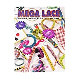 Mega Lace Extra Wide Plastic Lacing Book – Make a Variety of Arts and Crafts
