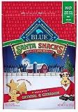Blue Buffalo Santa Snacks Oatmeal & Cinnamon Crunchy Dog Treat Biscuits, 11-oz Bag