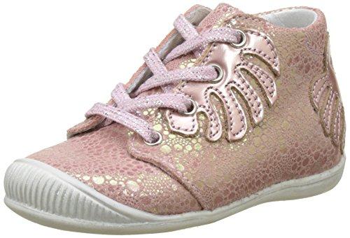 Little Mary DEFEUILLE, Baskets Bébé Fille, Rose (Astral Blanc Dragée), 18 EU