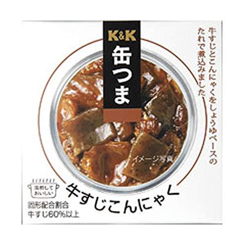 K&K 缶つま 牛すじこんにゃく 140g
