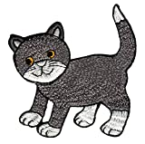 Katze Aufnäher Bügelbild