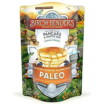 Paleo Pancake & Waffle Mix By Birch Benders Made With Cassava