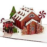 Hallmark Signature Paper Wonder Pop Up Christmas Card (Gingerbread)