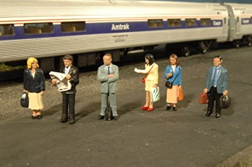 estar en gran demanda O gauge - Bachmann 6 Figures on on on the Platform by Bachmann  forma única