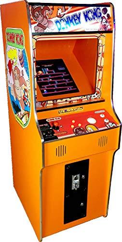 US-Way e.K. G 18 Naranja Arcade vídeo eléctrica TV de máquina Stand Cabinet de Dispositivo de Goteo 412 Juegos Jamma Games Machine