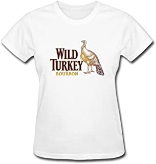 Newm Women's Wild Turkey O Neck Short Sleeve T Shirt