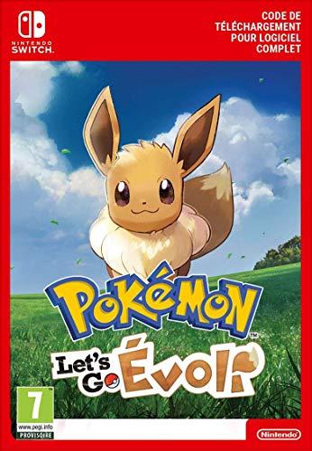 Pokémon : Let's Go, Évoli | Switch - Download Code