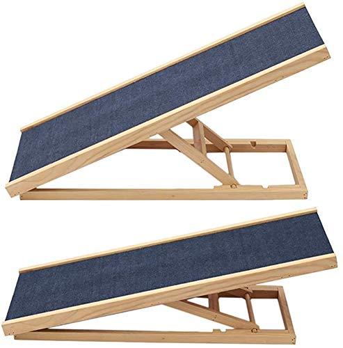 Escalera de gato de madera perro recorrido de bisel perro ajustable en altura de bisel de seguridad,A