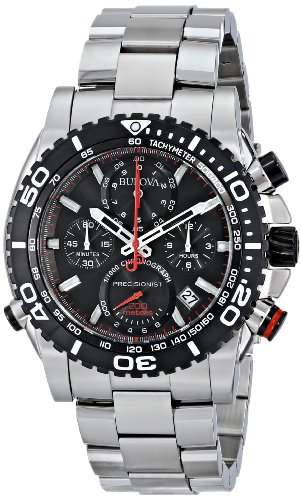 Bulova Men's 98B212 Analog Display Japanese Quartz White Watch